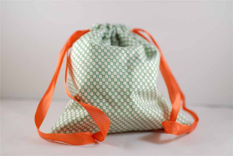 Full Circle: Drawstring Bags