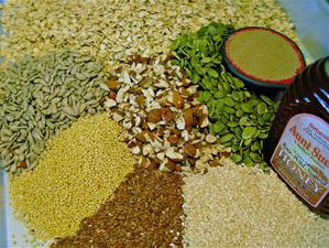 Granola_ingredients